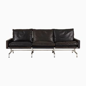 PK 31 3-Seater Leather Sofa by Poul Kjaerholm for E. Kold Christensen