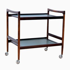 Danish Palisander Bar Cart, 1960s