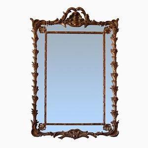 English Mirror in Mercury Glass, 19th Century