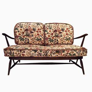 Englisches Zwei-Sitzer Sofa von Ercol, 1960er