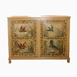 19th Century French Hand Painted Buffet Cabinet