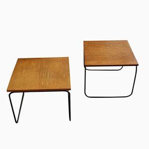Tables d'Appoint par Pierre Guariche, 1950s, Set de 2