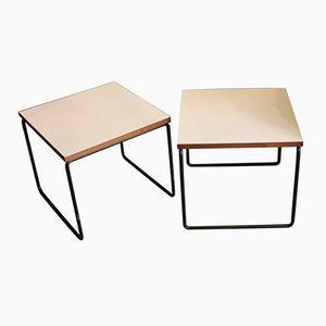 Tables d'Appoint par Pierre Guariche pour Steiner, 1950s, Set de 2