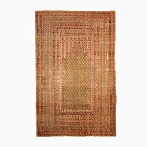 Antiker Handgewobener Türkischer Ghurdes Teppich