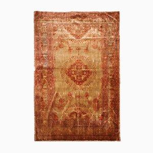 Antiker Handgewobener Persischer Tabriz Teppich