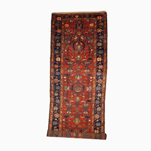 Antique Handmade Persian Lilihan Runner