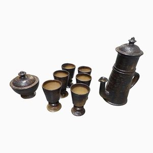 Ceramic Tea or Coffee Set by Jean Marais, 1970s