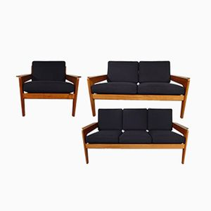 Vintage Living Room Set by Arne Wahl Iversen for Komfort