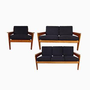 Vintage Sitzgruppe von Arne Wahl Iversen für Komfort