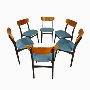 Esszimmerstühle von Asko, 1960er, 6er Set