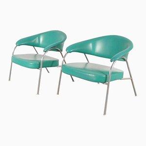 Italian Easy Chairs from Arflex, 1960s