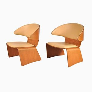 Mid-Century Bikini Chairs by Hans Olsen for Frem Rojle, Set of 2