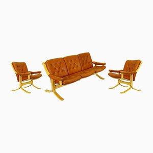 Dänisches Vintage Wohnzimmer-Set