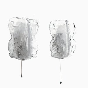 Murano Glass Sconces by J.T. Kalmar, 1960s, Set of 2
