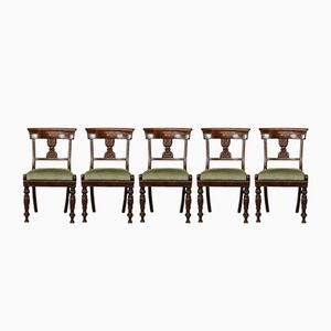 William IV Mahogany Dining Chairs, Set of 6