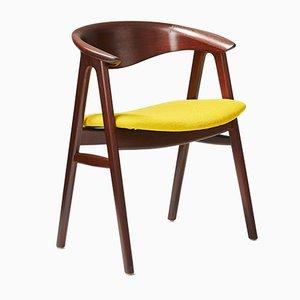Danish Desk Chair by Erik Kirkegaard for Hong Stolefabrik, 1956
