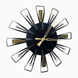 German Wall Clock from Electric, 1960s