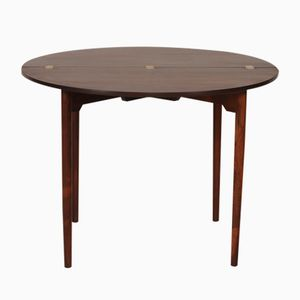 Vintage FH 2081 Round Table by Hans J. Wegner for Fritz Hansen