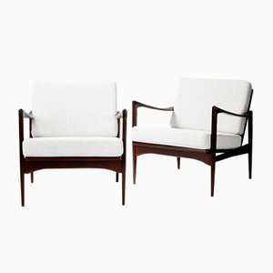 Candidate Chairs by Ib Kofod-Larsen for OPE, 1960s, Set of 2