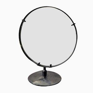 Italian Mid-Century Nickel-Plated Mirror
