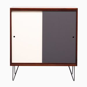 Vintage Cabinet with Reversible Doors, 1960s