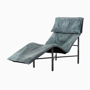 Skye Leather Lounge Chair by Tord Björklund, 1980s