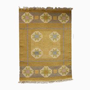 Schwedischer Mid-Century Röllakan Teppich von Ida Rydelius