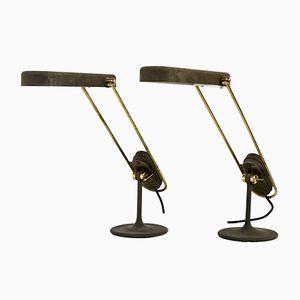 Schreibtischlampen von Philips, 1970er, 2er Set
