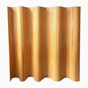 Divisorio in legno di pino massiccio di Alvar Aalto per Artek, anni '30