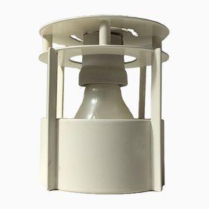 Weiße Magasin Deckenlampe von Vilhlem Wohlert für Louis Poulsen, 1990er