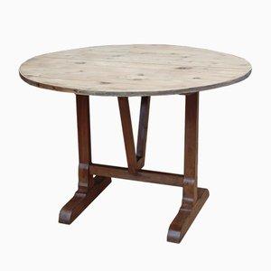 Antiker Weinlese Tisch aus Kirsche & Kiefer