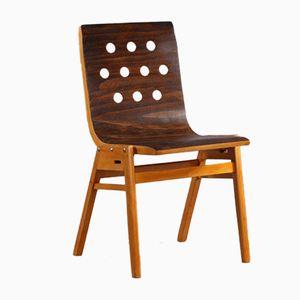 Sedia impilabile di Roland Rainer, Austria, anni '50