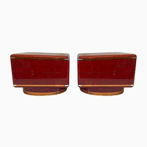 Italian End Tables, 1970s, Set of 2