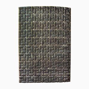 Vintage Teppich mit Labyrinth Muster