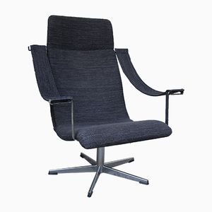 vintage space age lounge chair 1970s