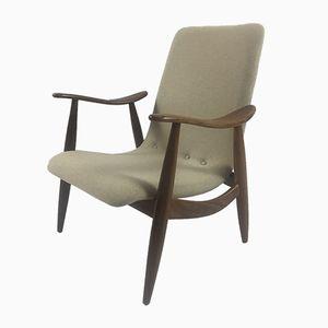 Dutch Lounge Chair by Louis van Teeffelen for Wébé, 1960s