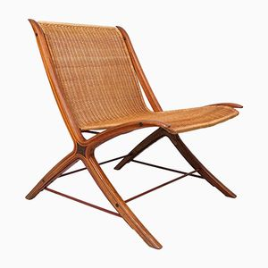 Model No. 6103 Lounge Chair by Hvidt & Mølgaard Nielsen for Fritz Hansen, 1961