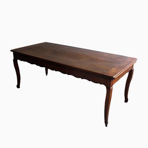 French Cherrywood Dining Table, 1800s