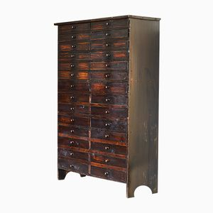Vintage Apothekerschrank mit Schubladen