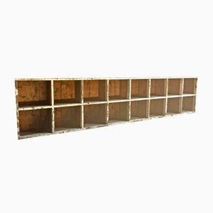 Antique Haberdashery Display Shelving Cabinet, 1870s