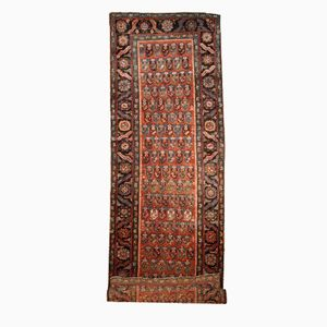 Antique Handmade Persian Bakshaish Runner, 1880s