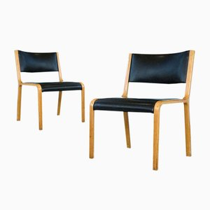German Bentwood Side Chairs from Wilkhahn, 1960s, Set of 2