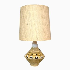 French Ceramic Table Lamp by Georges Pelletier for Accolay, 1960s