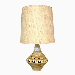 Lampe de Bureau en Céramique par Georges Pelletier pour Accolay, France, 1960s