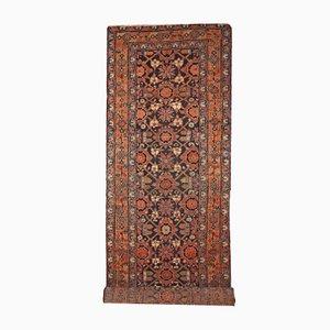 Antiker Handgefertigter Persischer Hamadan Läufer