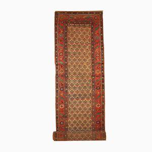 Antiker Handgemachter Persischer Kurd-Bidjar Läufer