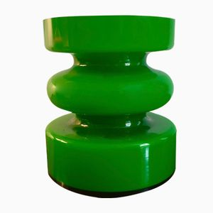 Grüne Finnische Vase von Riihimaki, 1960er
