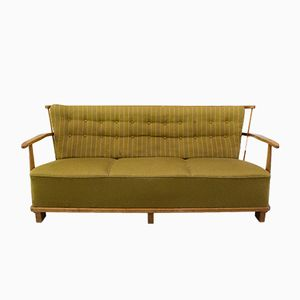 1590A 3-Seater Fabric Sofa from Fritz Hansen, 1940s