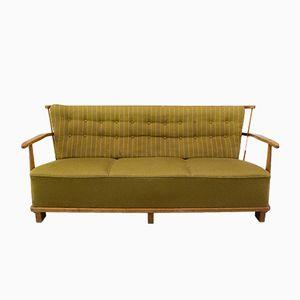 1590A 3-Sitzer Stoff Sofa von Fritz Hansen, 1940er