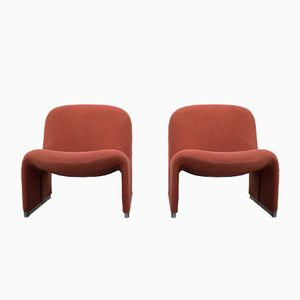 Vintage Alky Chairs by Giancarlo Piretti for Castelli, Set of 2
